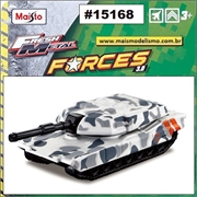 Maisto FRESH METAL FORCES 3.0 - Tanque BRAVO Branco