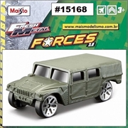 Maisto FRESH METAL FORCES 3.0 - HUMVEE Verde