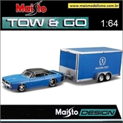 1969 - Dodge Charger R/T e Car Trailer - Maisto - 1/64