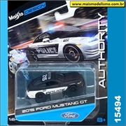 2015 - Ford Mustang GT Policia - Maisto DESIGN - 1/64