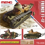 French FT-17 Light Tank (Cast Turret) - Meng - 1/35