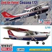 Civil Air Patrol Cessna 172 - Minicraft - 1/48