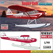 Super Cub Floatplane - Minicraft - 1/48