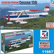 Cessna 150 Civil Air Patrol - Minicraft - 1/48