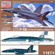 F-18 US Naval Aviation Centennial - Minicraft - 1/72