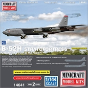 Boeing B-52H Stratofortress - Minicraft - 1/144