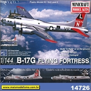 Boeing B-17G Flying Fortress - Minicraft - 1/144