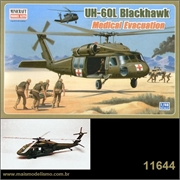 Helicóptero UH-60L Blackhawk Medical - Minicraft - 1/48