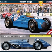 Talbot Lago Grand Prix Winner 1947-51 - Mister Craft - 1/24