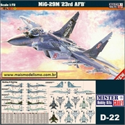 MiG-29M 23rd AFB - Mister Craft - 1/72