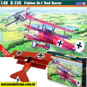 Fokker DR.I Red Baron - Mister Craft - 1/48