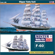 Clipper Cutty Sark (1869 - 1895) - Mister Craft - 1/180