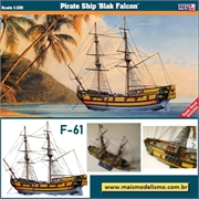 Black Falcon - Pirate Ship - Mister Craft - 1/120