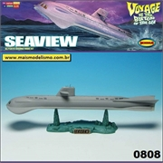 SEAVIEW Voyage to the Bottom of the Sea - Moebius - 1/350