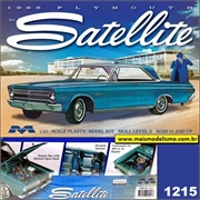1965 - Plymouth Satellite - Moebius - 1/25