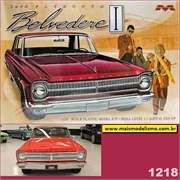 1965 - Plymouth Belvedere I - Moebius - 1/25