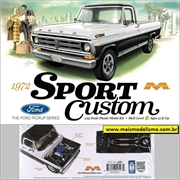 1972 - Ford Sport Custom Pickup - Moebius - 1/25
