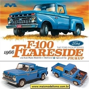 1966 - Ford F-100 Flareside Pickup - Moebius - 1/25