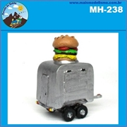 Trailer de Hamburguer - Morada do Hobby - (HO)