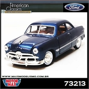 1949 - FORD COUPE Azul - Motormax - 1/24