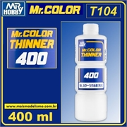 Diluente p/tinta Mr COLOR - Mr COLOR T104 - Mr Color - 400ml