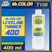 Diluente p/tinta Mr COLOR - Mr COLOR LEVELING T108 - Mr Color - 400ml