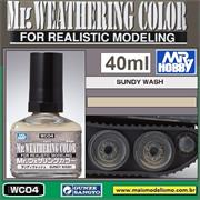 Mr Weathering Color WC004  SANDY WASH - Mr Hobby - 40ml