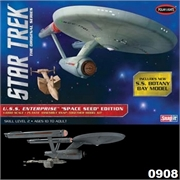 STAR TREK - USS Enterprise SPACE SEED - Polar Lights - 1/1000