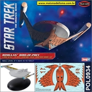 STAR TREK - Romulan BIRD-OF-PREY - Snap-it Polar Lights - 1/1000