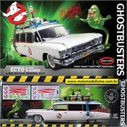 Ghostbusters ECTO-1 with SLIMER - Polar Lights - 1/25