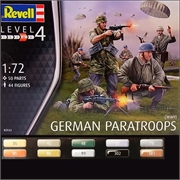 WWII German PARATROOPS - Revell - 1/72