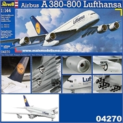 Airbus A380-800 Lufthansa - Revell - 1/144