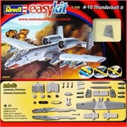 A-10 THUNDERBOLT II - Revell easy kit - 1/100