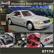 Mercedes-Benz 300 SL-24 Coupé - Revell - 1/24