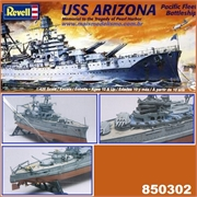 USS ARIZONA - Revell - 1/426