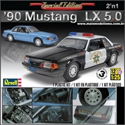 1990 - MUSTANG LX 5.0 - Revell - 1/25