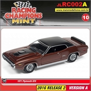 1971 - Plymouth GTX Marrom - Johnny Lightning - 1/64