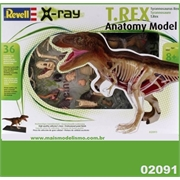 X-RAY T.REX ANATOMY MODEL - Revell - 1/40