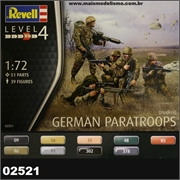 Modern German Paratroops - Revell - 1/72