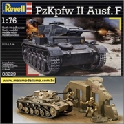 Panzer PzKpfw II Ausf F - Revell - 1/76