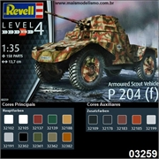 ARMOURED Scout Vehicle P 204 (f) - Revell - 1/35
