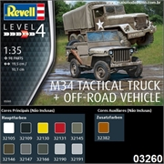 M34 Tactical Truck + Off-Road Vehicle - Revell - 1/35