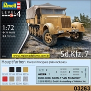 Sd. Kfz.   7 (Late Production) - Revell - 1/72