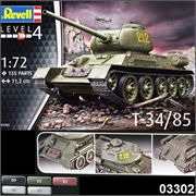 T-34/85 Russian Tank - Revell - 1/72