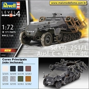 Sd. Kfz. 251/1 - Ausf. C e Wurfr .40 - Revell - 1/72