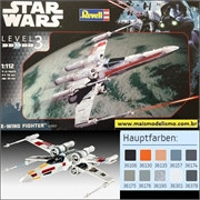 STAR WARS - X-Wing Fighter - Revell - 1/112