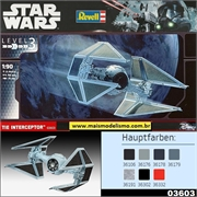 STAR WARS - Tie Interceptor - Revell - 1/90