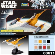 STAR WARS - Naboo Starfighter - Revell - 1/109