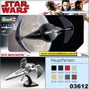 STAR WARS - Sith Infiltrator - Revell - 1/257