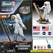 Apollo 11 - Astronaut on the Moon - Revell - 1/8